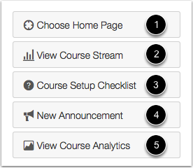 View Course Tools