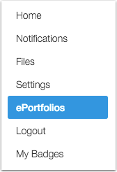 What is an ePortfolio?