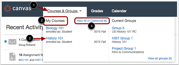 View Courses