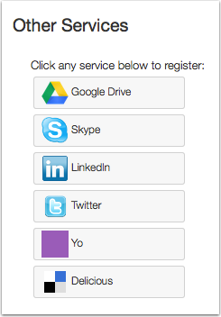 Connect to Web Services