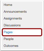 Open Pages