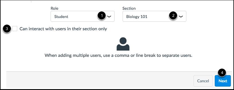 Enter User Information