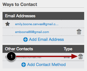 View Other Contacts