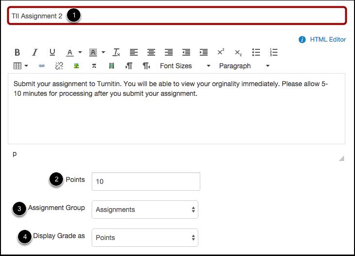 Add Assignment Details