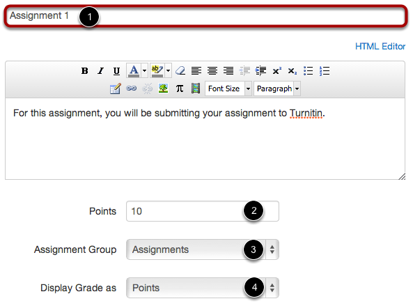 Add Assignment Details