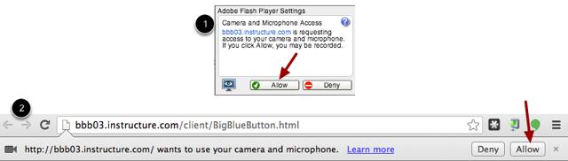 Chrome Media Permissions