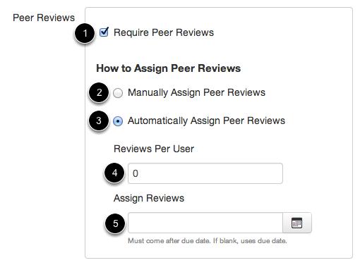 Require Peer Reviews