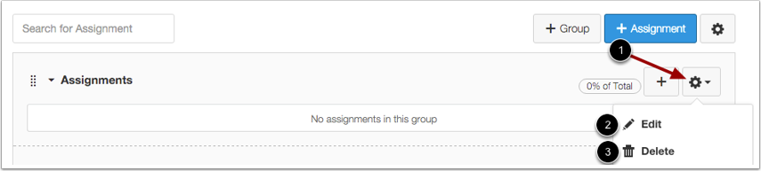 Manage Assignment Group