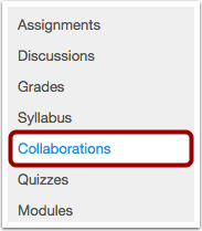 View Collaborations Link