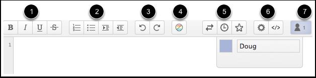 Use the Toolbar