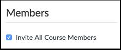 Invite Course Members