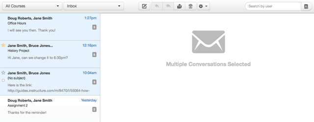 Select Multiple Messages