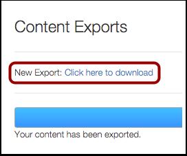 Download New Export