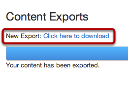 Download New Export