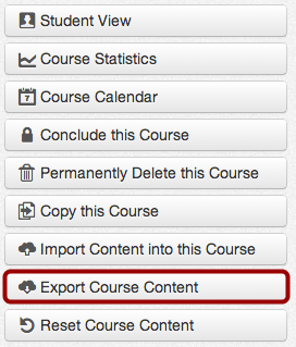 Export Course