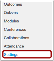 Click Settings Link