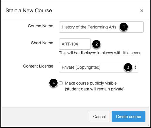 Add Course Details