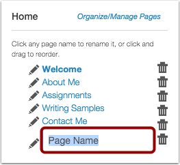 Add Page