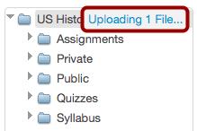 Monitor Uploads