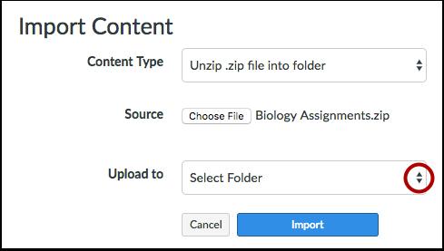 Select Folder