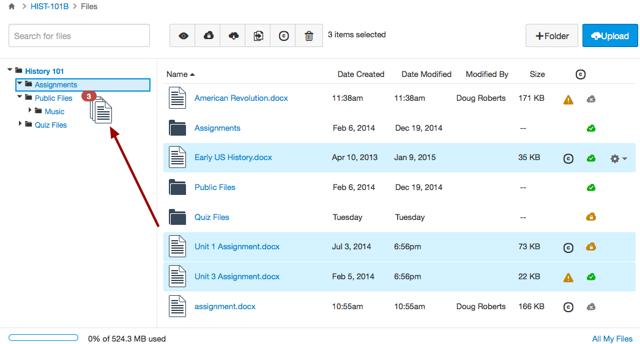 Move Multiple Files