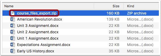 Open ZIP File