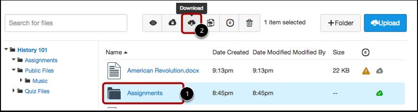 Download Files