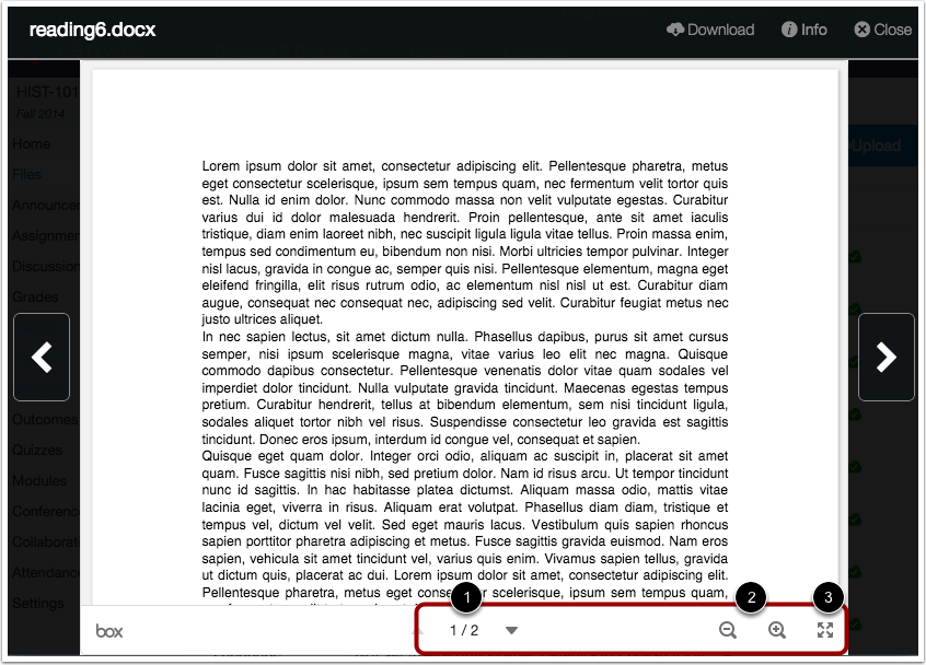 View Document Preview