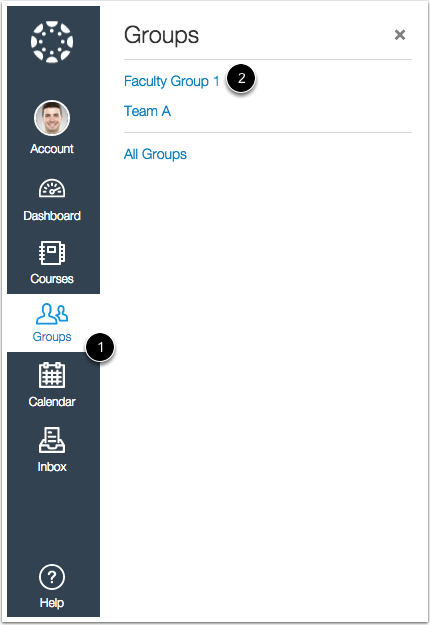 View Groups in New Canvas UI