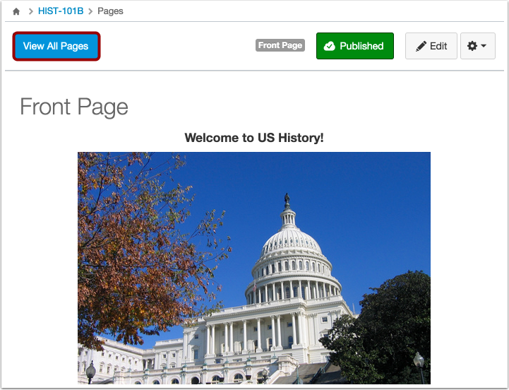View Pages