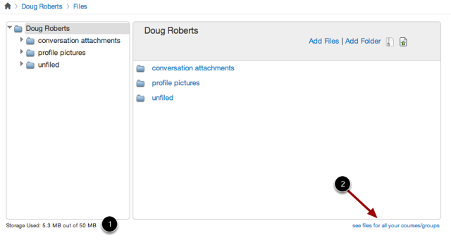 View Personal Files