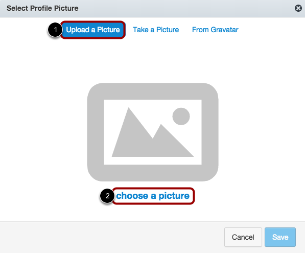 Upload a Picture