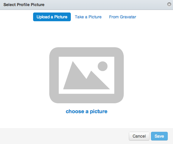 Select Profile Picture