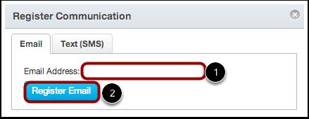 Register Communication