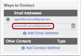 View Email Address
