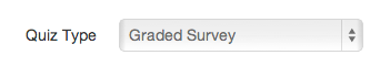 Create Graded Survey