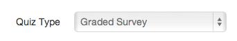 Create Graded Survey