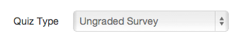 Create Ungraded Survey