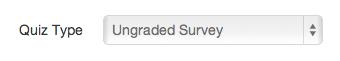 Create Ungraded Survey
