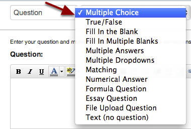 Select Multiple Choice Question Type