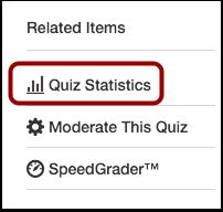 Open Quiz Statistics