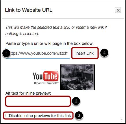 Paste Link