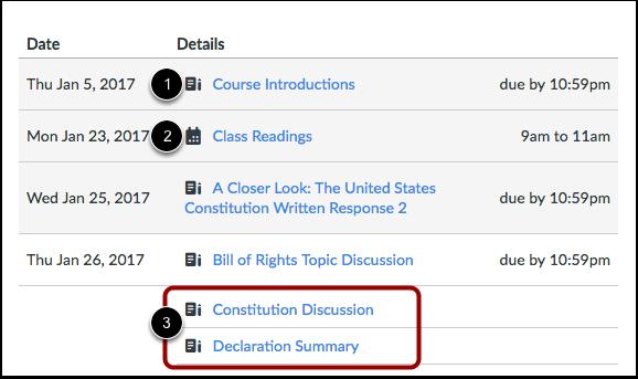 View Syllabus Table