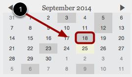 Navigate Syllabus Calendar
