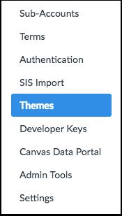 Open Theme Editor Button