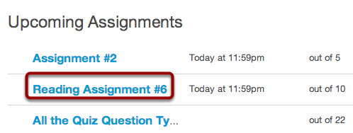 Observers Can See the Assignments Page