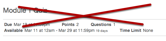 Observers Cannot Take Quizzes