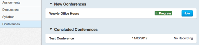 Observers Can Join Conferences