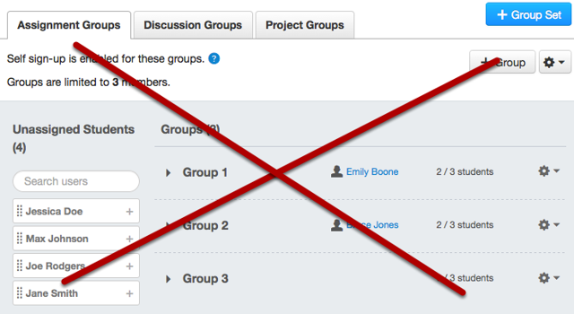 Observers Can't Join Course Groups