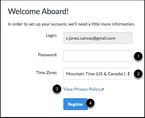 Complete Registration